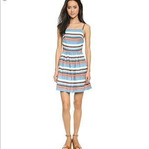 NWT Paul & Joe sisters dress $245 striped tank